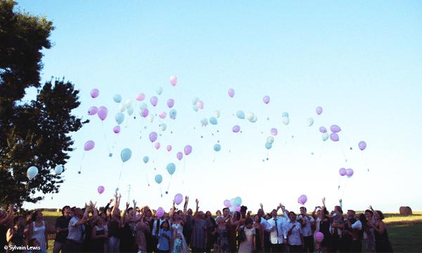 lacher de ballons mariage - Lacher De Ballons Mariage