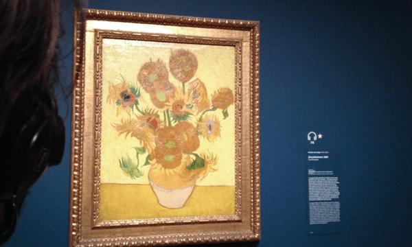 Van Goghe : les Tournesols