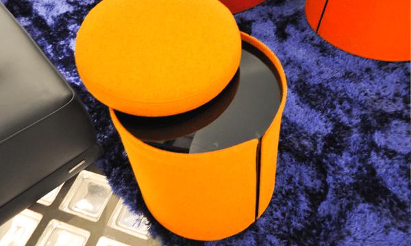table-pouf-feutre