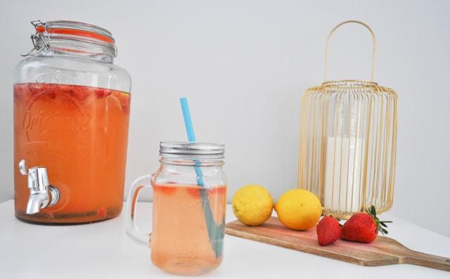 recette-citronnade-fraise