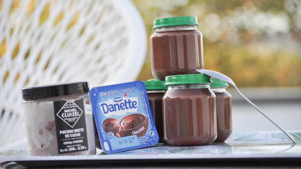 Revisite de la Danette au chocolat