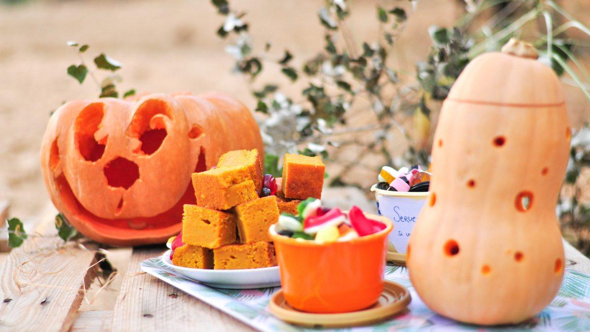Gâteau d'Halloween à dévorer : citrouille & cannelle