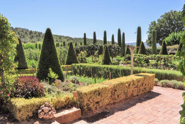 jardin val joanis